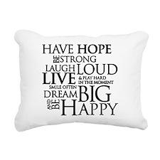 Unique Hope Rectangular Canvas Pillow