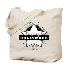 "I'm going to hollywood ""star"" Tote Bag"