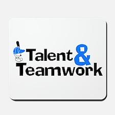 Baseball Talent And Teamwork Mousepad