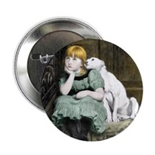 "Cute Adore a pit bull 2.25"" Button"