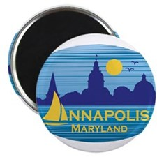 Annapolis, Maryland stickers for charity Magnets