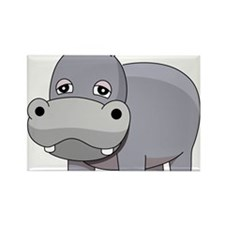 Cute Baby Hippo Magnets