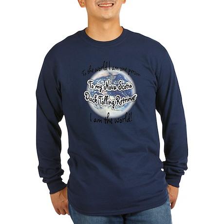 Toller World2 Long Sleeve Dark T-Shirt