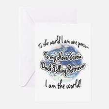 Toller World2 Greeting Cards (Pk of 10)