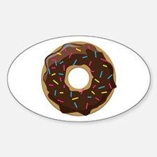 Sprinkle Donut Decal