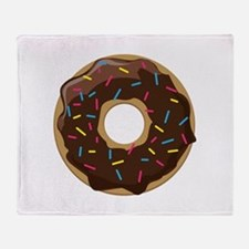 Sprinkle Donut Throw Blanket