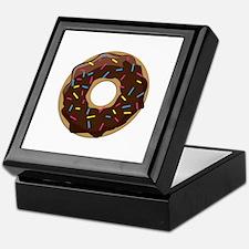 Sprinkle Donut Keepsake Box