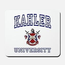 KAHLER University Mousepad