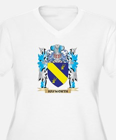 Hayworth Coat of Arms - Family Crest Plus Size T-S