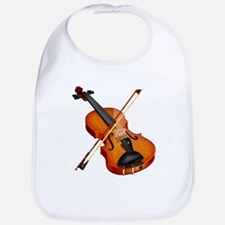 Cute Violin Bib