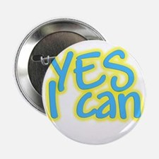 """Yes I can 2.25"""" Button (100 pack)"""