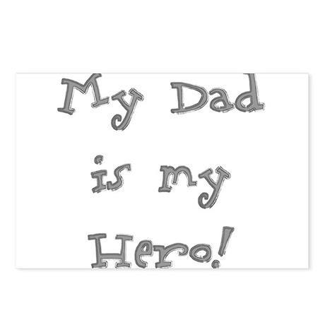 Dad Is My Hero Postcards (Package of 8)
