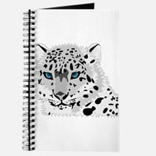 Unique Blue eyed cat Journal