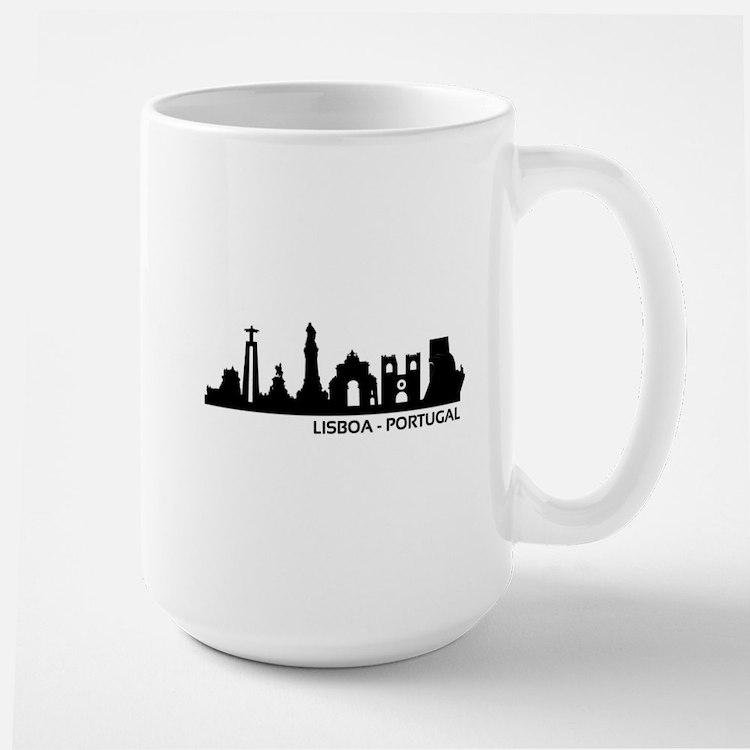 Skyline Lisboa - Portugal Mugs