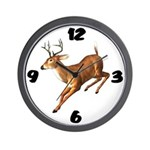 Deer Hunter Clock