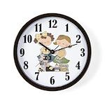 Scrapbook Lover Clock