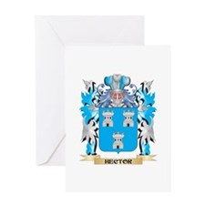 Hector Coat of Arms - Family Crest Greeting Cards