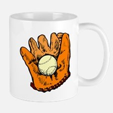 Vintage Baseball Glove Mugs