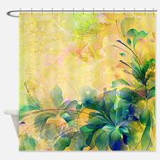 Cute Pastel flowers Shower Curtain