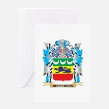 Heffernan Coat of Arms - Family Crest Greeting Car
