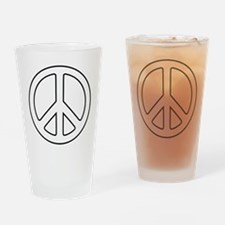 Cute Symbol Drinking Glass