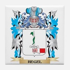 Cute Hegel Tile Coaster