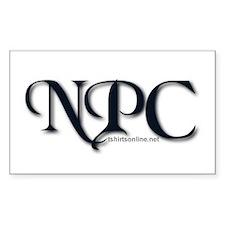 NPC Sticker (Rect.)
