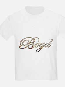 Gold Boyd T-Shirt