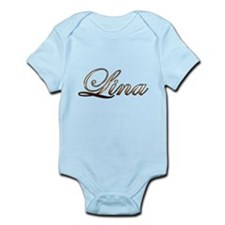 Gold Lina Body Suit