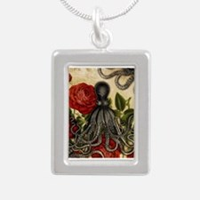 Tentacles And Roses Necklaces