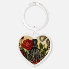 Tentacles And Roses Keychains