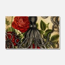 Tentacles And Roses Car Magnet 20 x 12