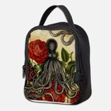 Tentacles And Roses Neoprene Lunch Bag