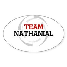 Nathanial Oval Decal
