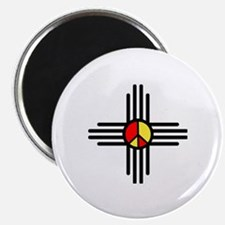 Zia Peace Symbol Magnet