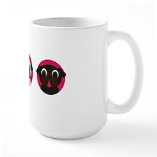 Pug Heads - Row of 3 Mug