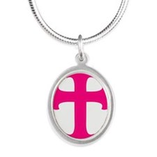 Pink Cross Necklaces