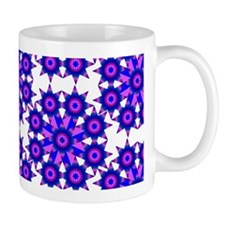 Native Purple Star Round Mug