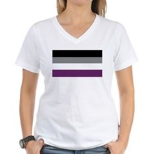 Asexuality Flag T-Shirt