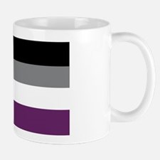 Asexuality Flag Mugs
