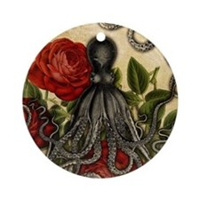 Tentacles And Roses Ornament (Round)