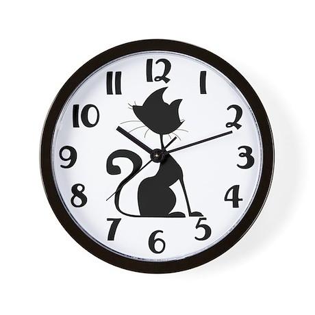 Cat Lover Clock