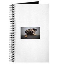 Cute Pug Journal