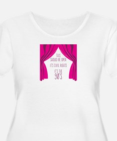 Bridesmaids 90s Plus Size T-Shirt
