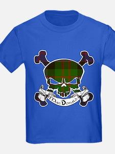 MacDonald Tartan Skull T