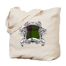 MacDonald Tartan Shield Tote Bag