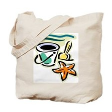 Beach Bucket Tote Bag