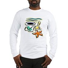 Beach Bucket Long Sleeve T-Shirt