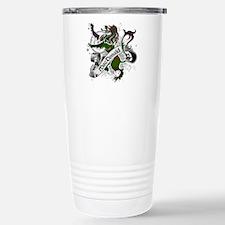 MacDonald Tartan Lion Stainless Steel Travel Mug