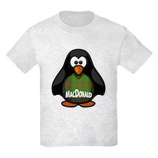 MacDonald Tartan Penguin T-Shirt